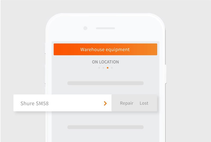 Wharehouse management app Rentman