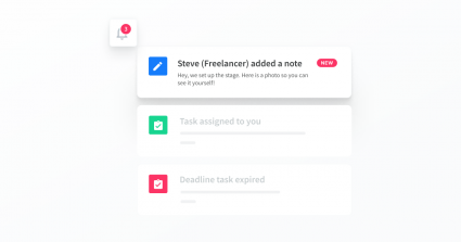Add notes, tasks, and files regardless of rights